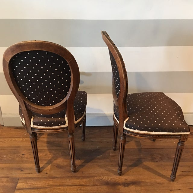 Queen Anne Side Chairs - A Pair - Image 6 of 8