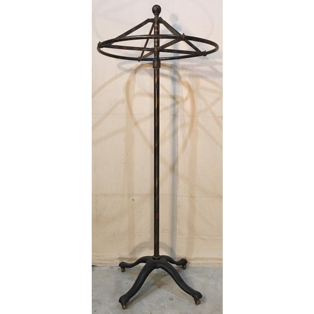 Circular Revolving Clothing Rack For Sale - Image 11 of 11
