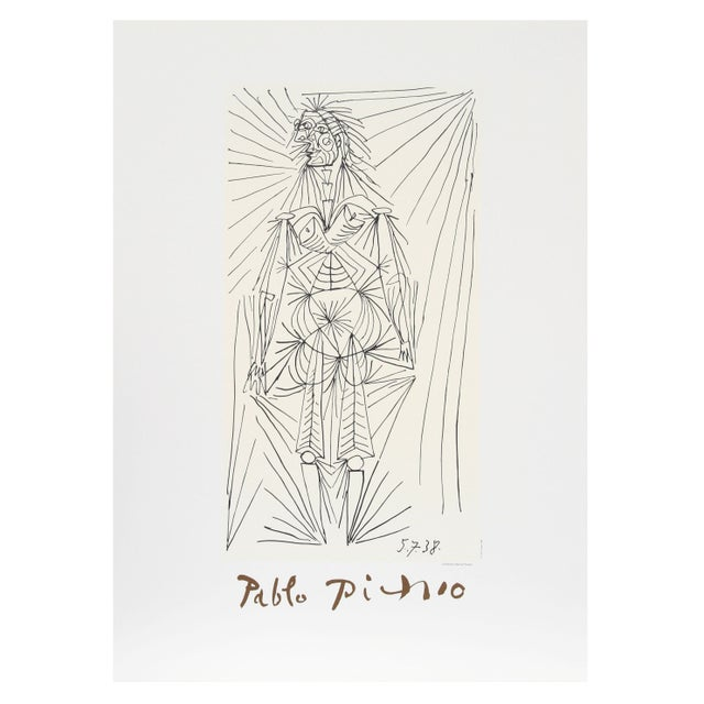 Pablo Picasso - Femme Debout Estate Lithograph For Sale