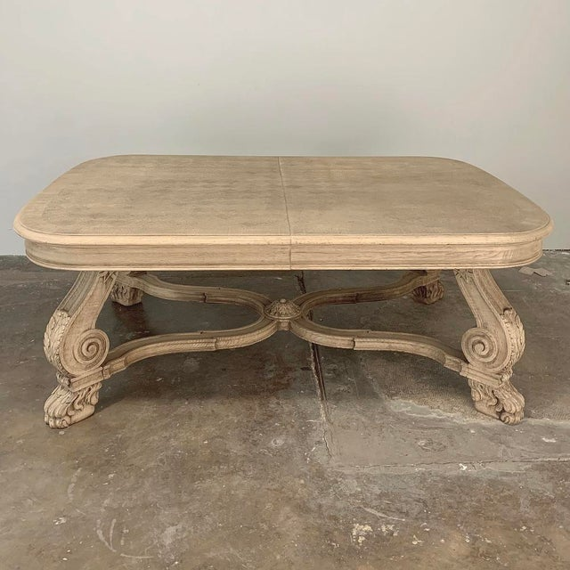 Early 20th Century Antique Louis XIV Stripped Parquet Coffee Table For Sale - Image 5 of 13