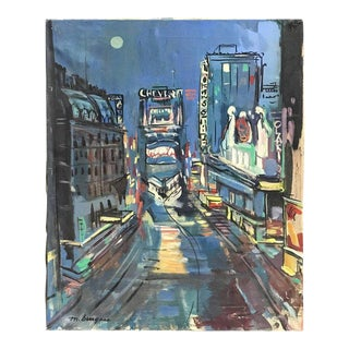 """Marguerite Clawson Burgess, """"New York, New York"""""""