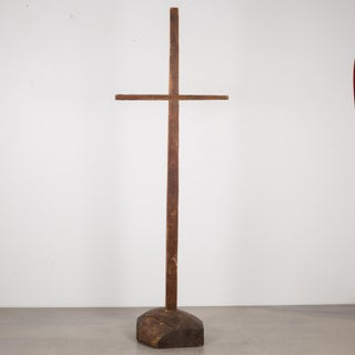 Primitive Folk Art Cross C.1920-1940 Preview