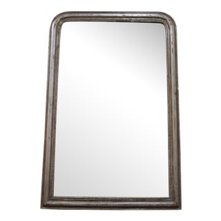 Vintage Louis Phillipe Mirror Silver