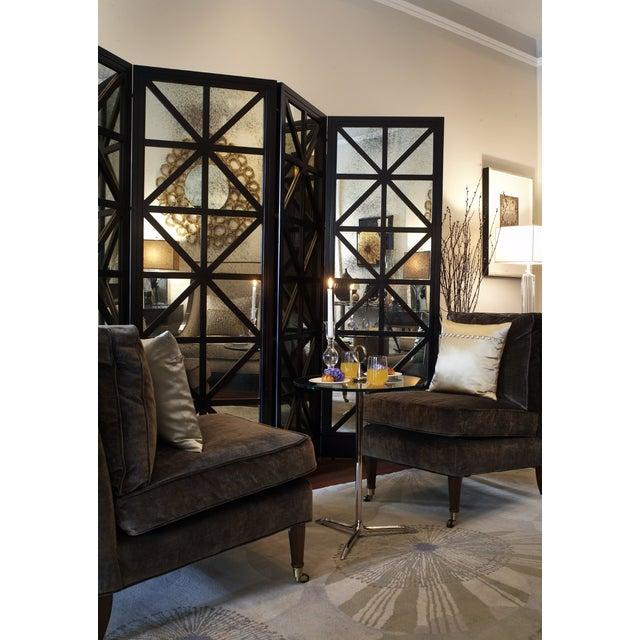 Oly Studio Antique Mirror Four-Panel Screen - Image 2 of 3