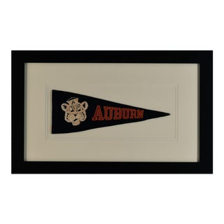 1980's Vintage Auburn University Pennant For Sale