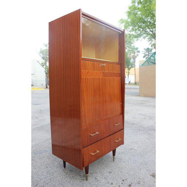 Monumental French Art Deco Mahogany Bar, Circa 1940s - Image 2 of 9