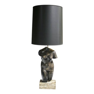 Venus Torso Lamp For Sale