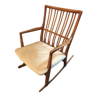 Hans Wegner Ml33 Rocking Chair (1960) For Sale