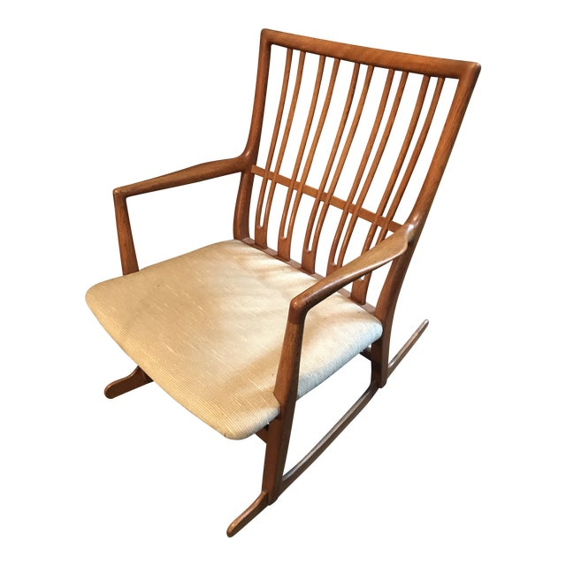 Hans Wegner Ml33 Rocking Chair (1960) For Sale