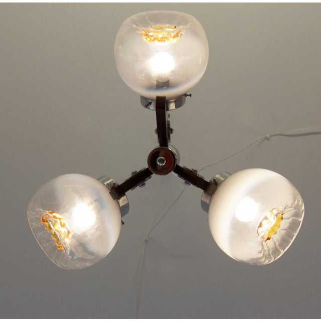 Vintage Murano Glass Ceiling Lamp, 1970s For Sale - Image 6 of 10