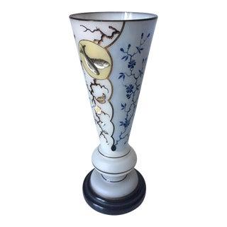 """Arts & Crafts Opaline Glass Vase-13"""""""