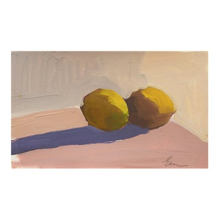 'Still Life of Lemons' by Elana Ryznar, 2014; California Woman Artist, Art Institute of Chicago, Monterey Bay For Sale