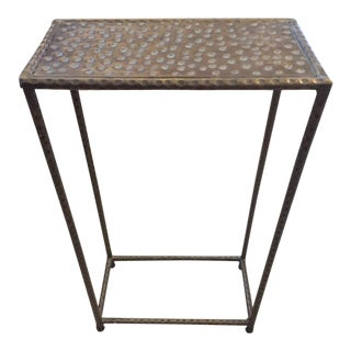 "Interlude Home ""Surin"" Brass Drinks Table"