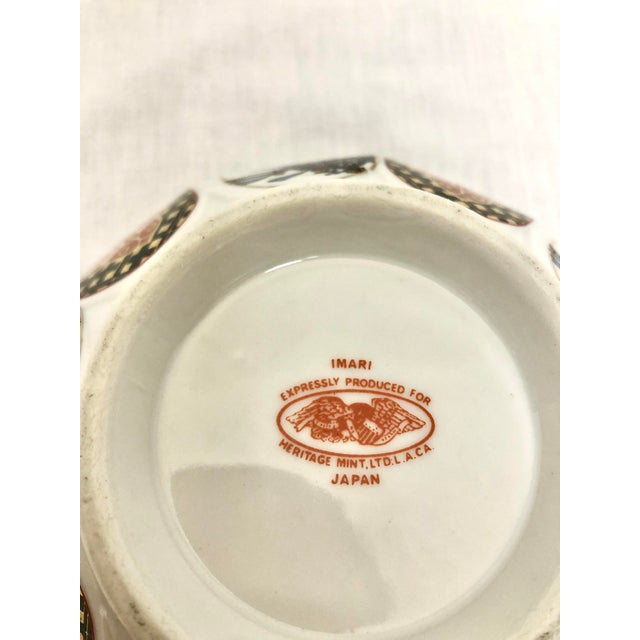 Ceramic Japanese Style Imary Bowl For Sale - Image 7 of 8