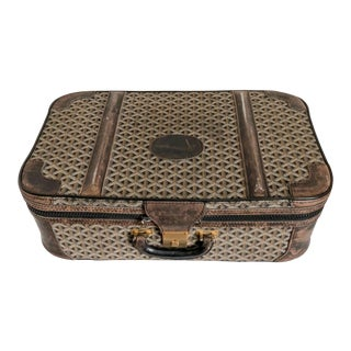 Maison Goyard 1960sSuitcase Luggage For Sale