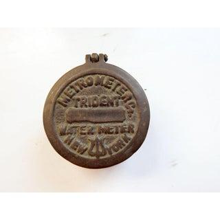 1923 New York Water Meter Box Preview