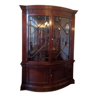 Late 20th Century Baker Historic Charleston China Cabinet For Sale