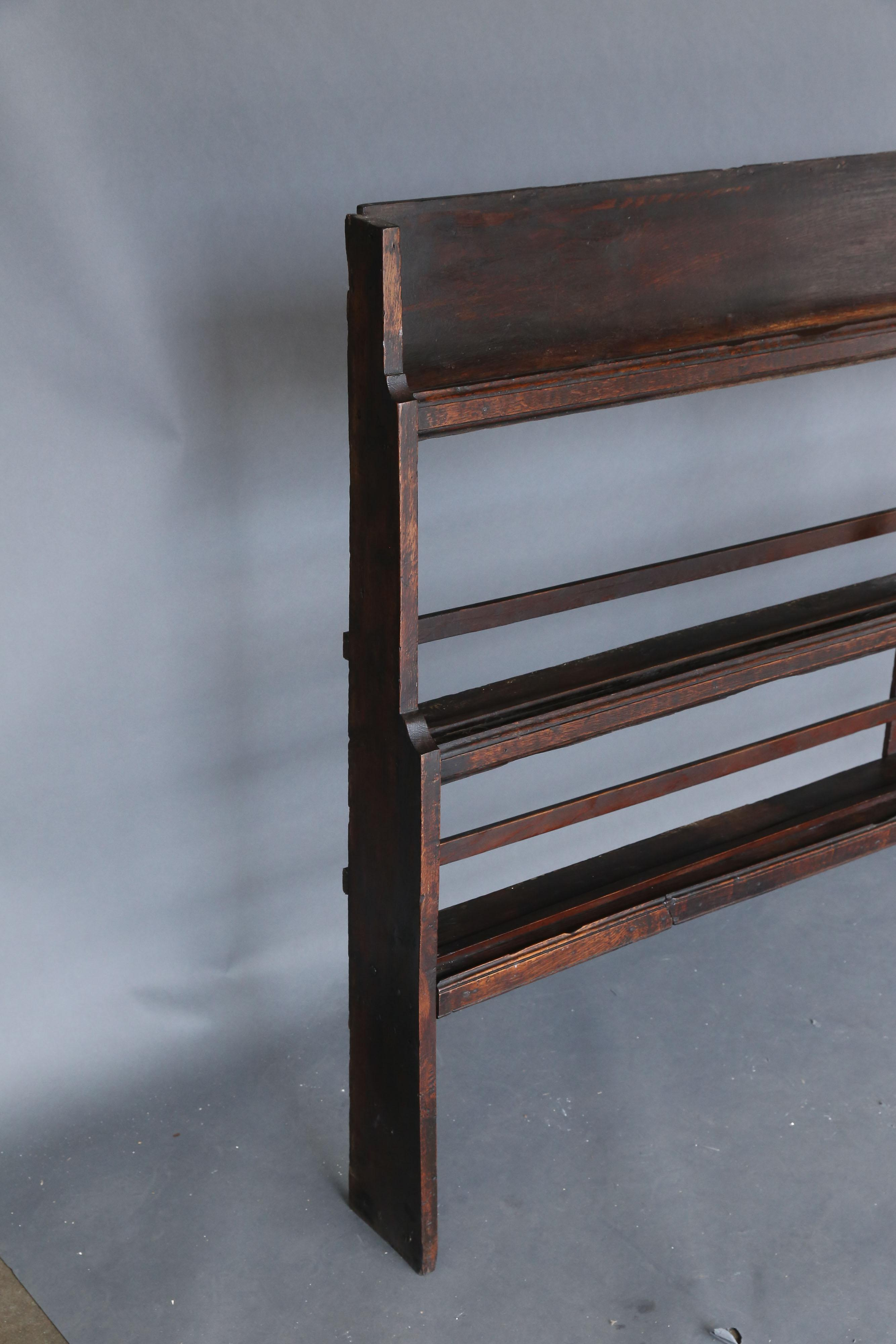 19th Century Oak Plate Rack - Image 4 of 10  sc 1 st  Decaso & High-End 19th Century Oak Plate Rack | DECASO