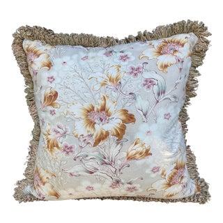 Art Nouveau Antique Textile Pillow For Sale