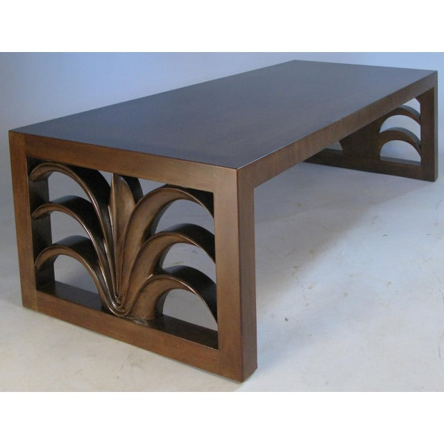 Wood Palm Leaf Cocktail Table by Robsjohn-Gibbings for Widdicomb For Sale - Image 7 of 7