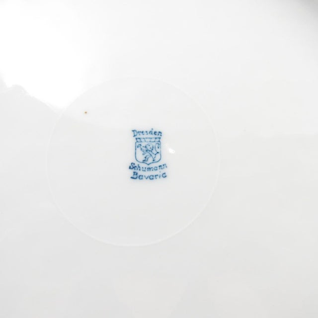 Ceramic Schumann Bavaria Cabinet Plate, Plate #2 For Sale - Image 7 of 8
