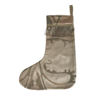 Custom Textile Christmas Stocking For Sale