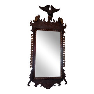 Antique Chippendale Mirror For Sale
