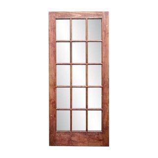 Fifteen Lite Pine French Door