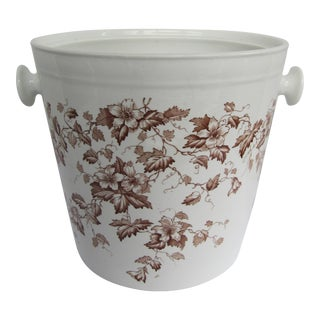 Transferware Slop Pail For Sale