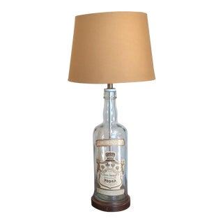 Vintage Vodka Bottle Lamp For Sale