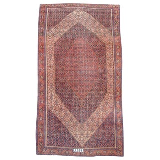 Senneh Persian Gallery Carpet - 7′3″ × 16′ For Sale