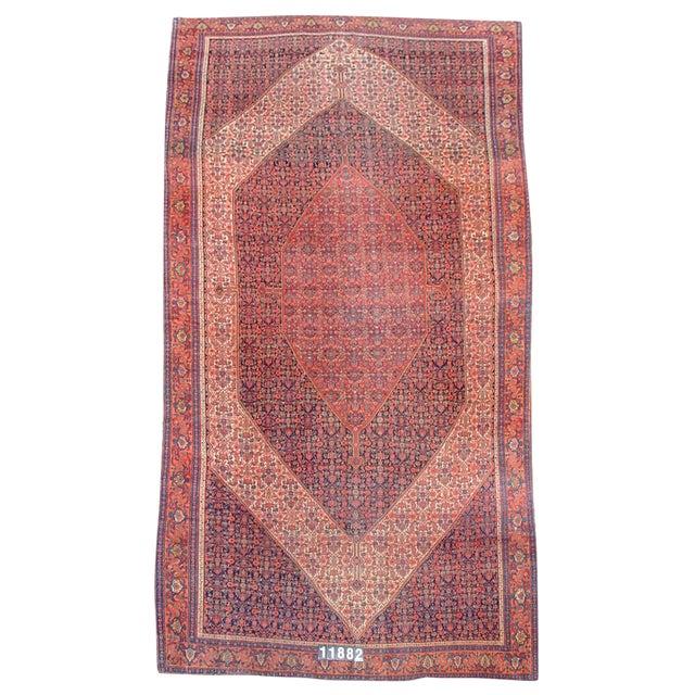 Senneh Persian Gallery Carpet - 7′3″ × 16′ For Sale