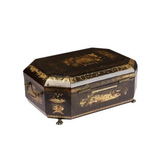 Circa 1850 Chinese Export Sewing Box