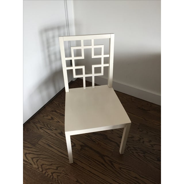 West Elm Overlapping Square Side Chairs - 4 - Image 3 of 6