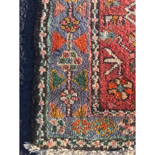 """Vintage Persian Karajeh Runner - 2'7"""" X 8'7"""" - Image 9 of 11"""