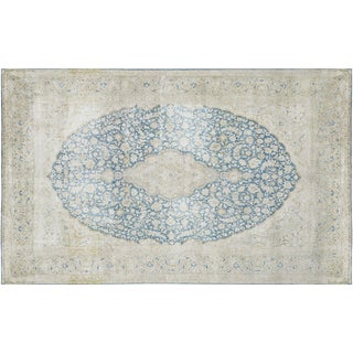 "Vintage Distressed Persian Rugs - 10'1"" X 16'"