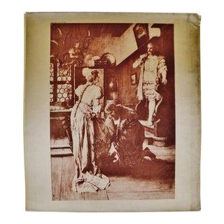 1899 Photogravure of Ferdinand Leeke's Die Meistersinger Von Nürnberg Opera Painting For Sale
