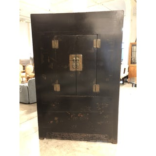 Antique Chinese Wedding Lacquer Cabinet From Gumps Preview