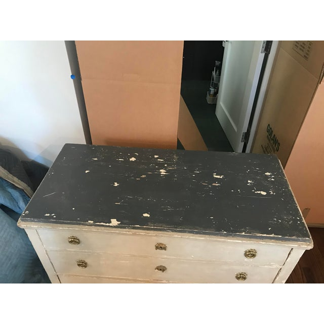 Late 20th Century Vintage Gustavian Chest For Sale - Image 4 of 12
