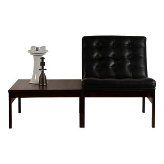 Modular Slipper Chair and Table Elements Set by Ole Gjerløv-Knudsen for France & Søn For Sale