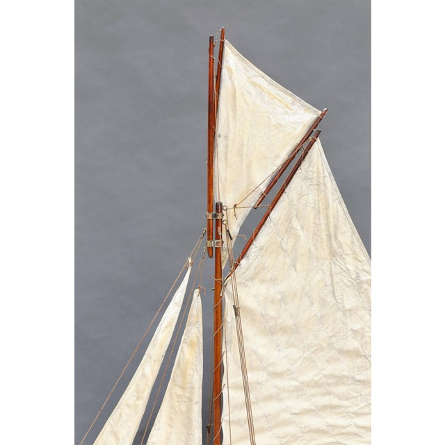 Large Antique English Pond Yacht - Image 10 of 10
