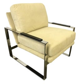 Image of Chrome Lounge Chairs