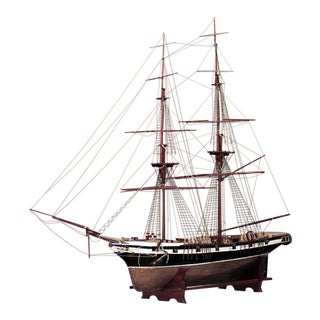 English Ship Model For Sale