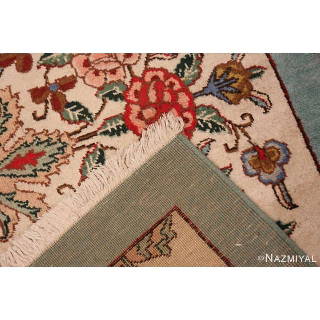 Tabriz Persian Runner Rug - 2′11″ × 12′10″ For Sale - Image 4 of 8