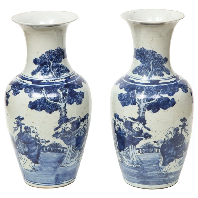 Chinese Export Vases - A Pair For Sale - Image 13 of 13