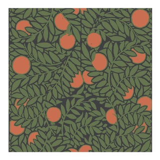 Mitchell Black Home Orange Grove Forest Wallpaper For Sale