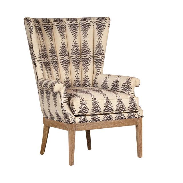 Aztec Pattern Arm Chair Chairish