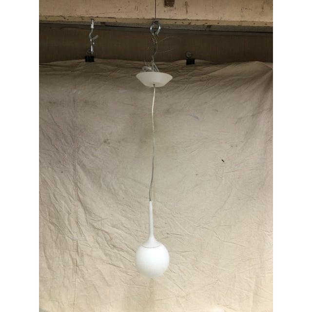 Artemide Castore 14 CM Suspension in White - Showroom Sample Castore 14 cm (about 5.5 in) light suspension. Cable...