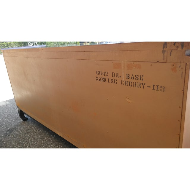 Vintage Kent Coffey Amerasia Chinoiserie Dresser Buffet Credenza For Sale - Image 12 of 13
