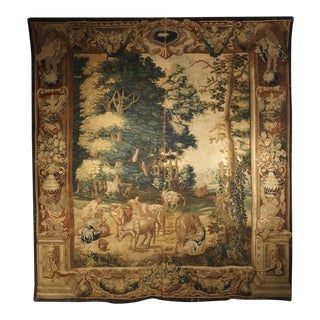 A Rare 17th Century Brussels Tapestry by Ian Van Leefdael For Sale